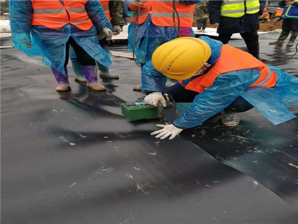 土工膜用于武汉火神山医院项目