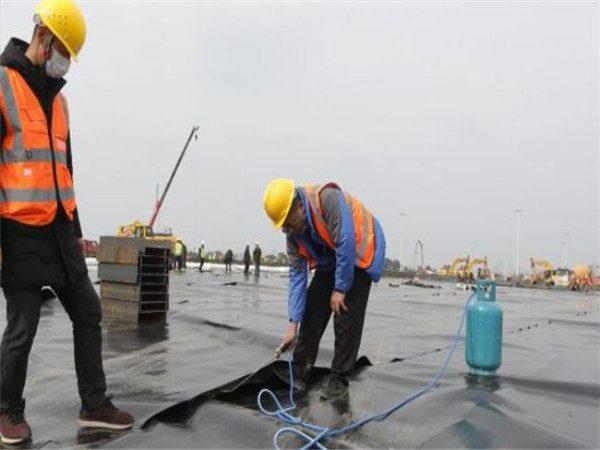 防渗土工膜用于武汉火神山医院项目